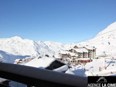 Location au ski Studio cabine 4 personnes (102) - La Residence La Reine Blanche - Val Thorens - Extérieur hiver