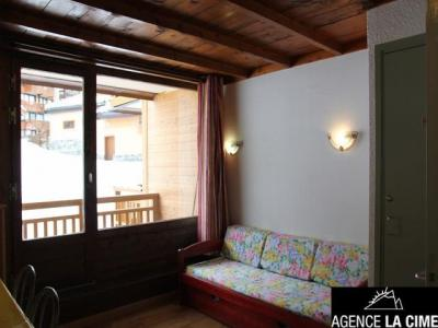 Location au ski Studio 4 personnes (307) - La Residence Le Lac Blanc - Val Thorens - Tv