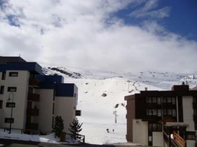 Location au ski Studio cabine 5 personnes (002) - La Residence Le Schuss - Val Thorens - Extérieur hiver