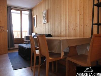 Location au ski Studio cabine 4 personnes (1107) - La Residence Les Cimes De Caron - Val Thorens - Tv