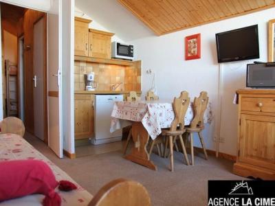 Location au ski Studio 4 personnes (070) - La Residence Les Eterlous - Val Thorens - Canapé