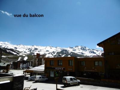Location au ski Studio 4 personnes (029) - La Residence Les Neves - Val Thorens - Extérieur hiver
