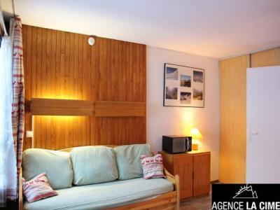 Location au ski Studio 4 personnes (109) - La Residence Les Neves - Val Thorens - Canapé