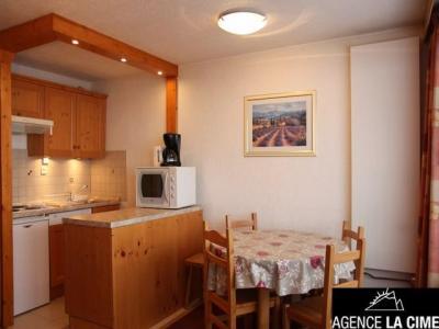 Location au ski Studio 4 personnes (164) - La Residence Les Neves - Val Thorens - Canapé-gigogne