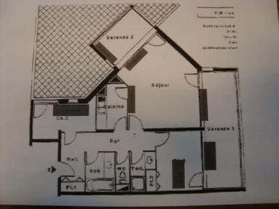 Location au ski Appartement 5 pièces 8 personnes (M9) - La Residence Serac - Val Thorens - Plan