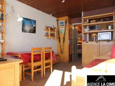 Location au ski Studio 4 personnes (V5) - La Residence Serac - Val Thorens - Séjour