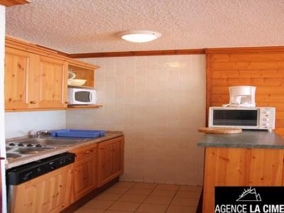 Location au ski Studio 6 personnes (J9) - La Residence Serac - Val Thorens - Kitchenette