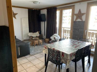 Location au ski Appartement 3 pièces 6 personnes (22) - Le Chalet Diamant - Val Thorens - Séjour