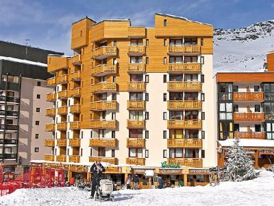 Rent in ski resort 1 room apartment 4 people (1) - Le Zénith - Val Thorens - Winter outside