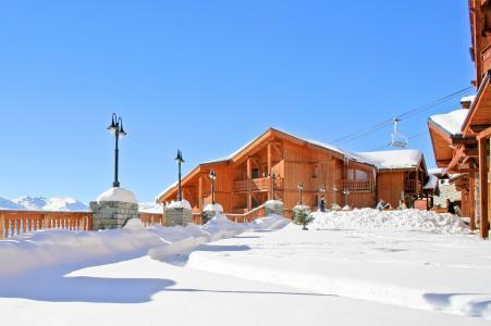 Location au ski Les Balcons de Val Thorens - Val Thorens - Extérieur hiver
