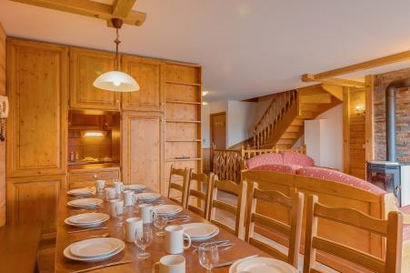 Rent in ski resort Les Balcons de Val Thorens - Val Thorens - Dining area