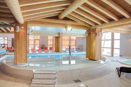 Location au ski Les Balcons de Val Thorens - Val Thorens - Piscine