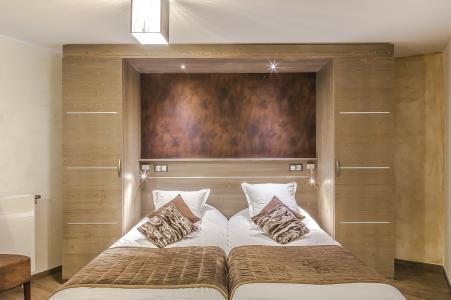 Rent in ski resort Les Balcons Platinium - Val Thorens - Bedroom