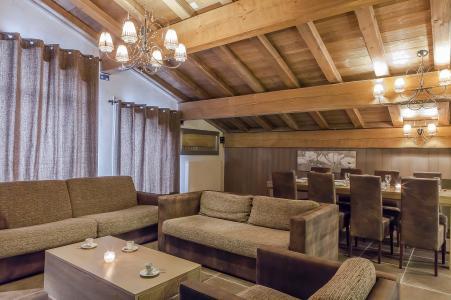 Location au ski Les Balcons Platinium - Val Thorens - Canapé