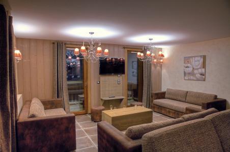 Rent in ski resort Les Balcons Platinium - Val Thorens - Living area