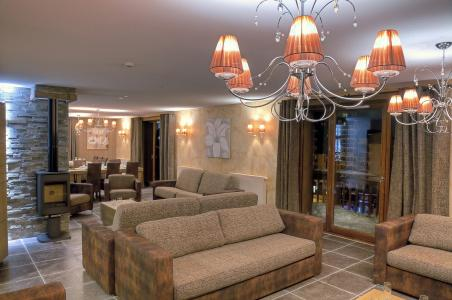Rent in ski resort Les Balcons Platinium - Val Thorens - Living room