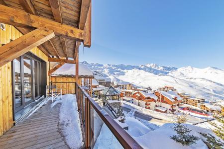 Rent in ski resort 6 room chalet 10 people (ORLOV) - Les Chalets du Koh-I-Nor - Val Thorens - Winter outside