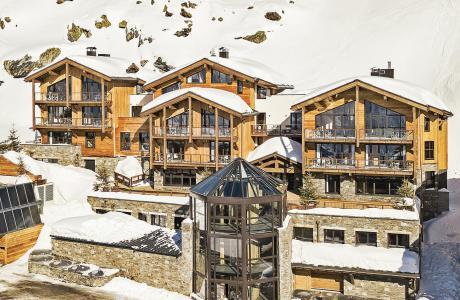 Rent in ski resort Les Chalets du Koh-I-Nor - Val Thorens - Winter outside