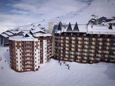 Rent in ski resort Studio cabin 4 people (19F) - Les Temples du Soleil Cuzco - Val Thorens - Winter outside