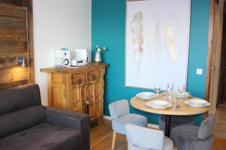 Rent in ski resort Studio cabin 4 people (19F) - Les Temples du Soleil Cuzco - Val Thorens - Living room