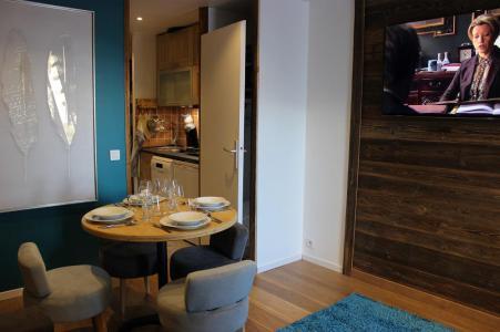 Rent in ski resort Studio cabin 4 people (19F) - Les Temples du Soleil Cuzco - Val Thorens - Table