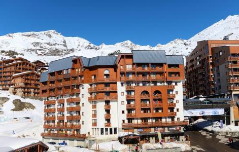 Vacances en montagne Résidence Altineige - Val Thorens - Extérieur hiver