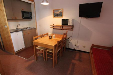 Location au ski Appartement 2 pièces cabine 4 personnes (606) - Residence Arcelle - Val Thorens - Table
