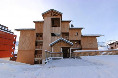 Vacances en montagne Résidence Beau Soleil - Val Thorens - Extérieur hiver