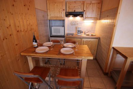 Location au ski Appartement 2 pièces 4 personnes (4) - Résidence Beau Soleil - Val Thorens - Table