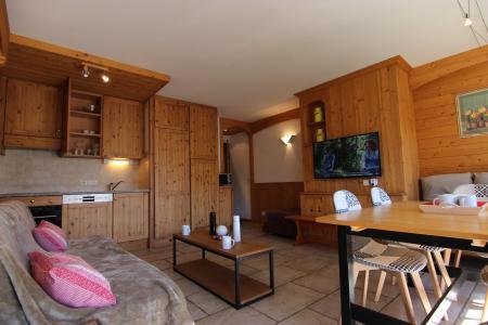 Location au ski Appartement 3 pièces 6 personnes (10) - Residence Beau Soleil - Val Thorens - Canapé