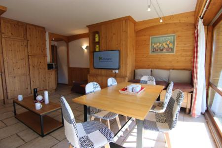 Location au ski Appartement 3 pièces 6 personnes (10) - Residence Beau Soleil - Val Thorens - Tv à écran plat