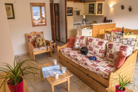 Location au ski Appartement 3 pièces 6 personnes (8) - Résidence Beau Soleil - Val Thorens - Séjour