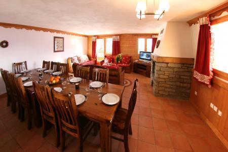 Rent in ski resort Résidence Chalet des Neiges Plein Sud - Val Thorens - Dining area