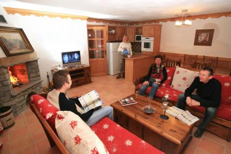 Appartement duplex 7 pièces 12 personnes (ou triplex) - Residence Chalet Des Neiges Plein Sud