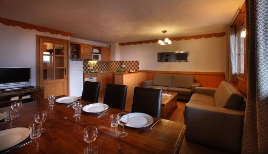 Location au ski Residence Chalet Des Neiges Plein Sud - Val Thorens - Table