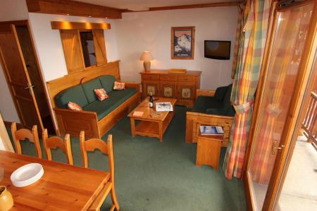 Location au ski Appartement 3 pièces 6 personnes (12) - Résidence Chalet le Cristallo - Val Thorens - Séjour