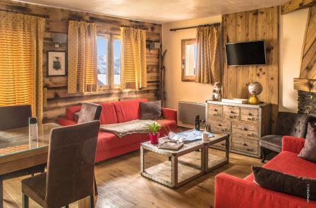 Location au ski Appartement duplex 4 pièces 8 personnes (13) - Résidence Chalet le Cristallo - Val Thorens - Séjour