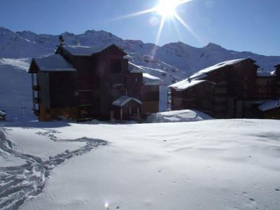 Location au ski Studio coin montagne 4 personnes (1302) - Résidence Cimes de Caron - Val Thorens