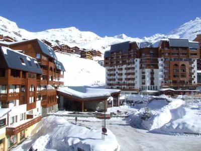 Location au ski Studio 2 personnes (2703) - Résidence Cimes de Caron - Val Thorens - Coin repas