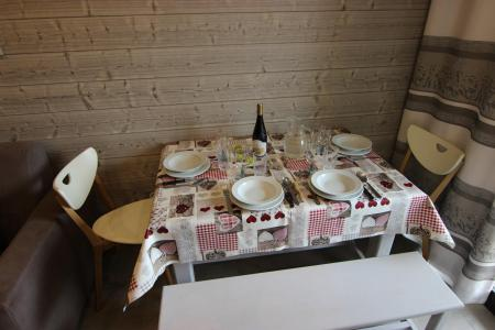 Location au ski Studio 4 personnes (1102) - Résidence Cimes de Caron - Val Thorens - Salle à manger