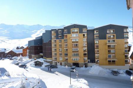 Location au ski Studio cabine 4 personnes (2100) - Résidence Cimes de Caron - Val Thorens - Séjour