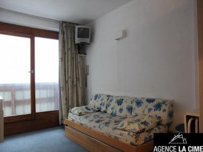 Location au ski Studio cabine 4 personnes (619) - Residence De L'altineige - Val Thorens - Canapé-lit