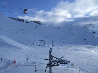Location au ski Studio 3 personnes (616) - Residence De L'olympic - Val Thorens - Extérieur hiver
