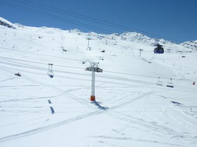 Location au ski Appartement 2 pièces 4 personnes (518) - Residence De L'olympic - Val Thorens - Extérieur hiver