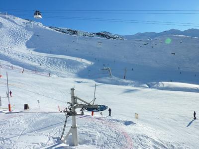 Location au ski Studio 2 personnes (625) - Residence De L'olympic - Val Thorens - Extérieur hiver
