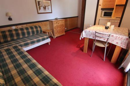 Location au ski Studio 2 personnes (221) - Residence De L'olympic - Val Thorens - Séjour