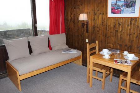Location au ski Studio 2 personnes (223) - Residence De L'olympic - Val Thorens - Canapé