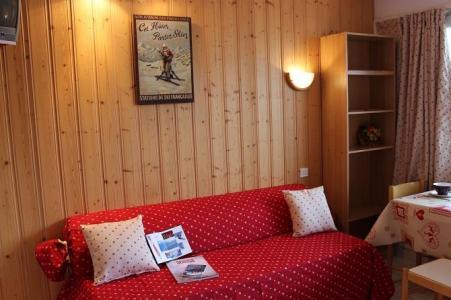 Location au ski Studio 2 personnes (625) - Residence De L'olympic - Val Thorens - Canapé