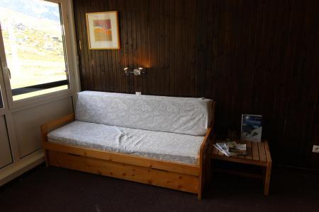 Location au ski Studio 3 personnes (323) - Residence De L'olympic - Val Thorens - Canapé
