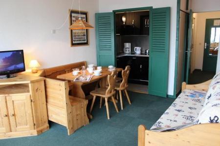 Location au ski Studio 3 personnes (616) - Residence De L'olympic - Val Thorens - Canapé